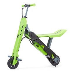 Viro Rides Vega 2 in 1 Transforming Electric Scooter - Green