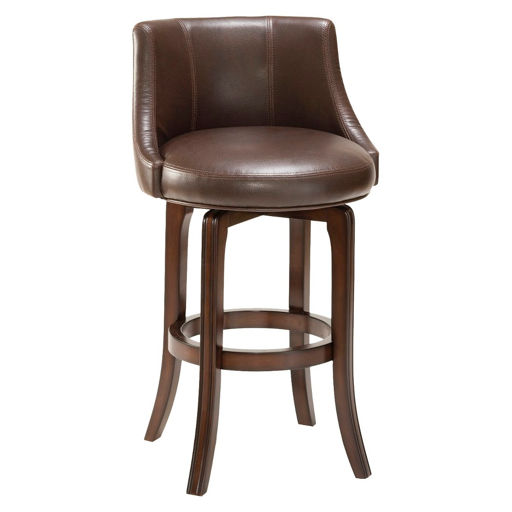 25 Napa Valley Wood Counter Stool Brown - Hillsdale Furniture
