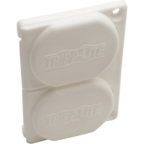 Tripp Lite Replacement Outlet Covers for Hospital Medical Power Strips - Supports Power Strip - Lockable - Plastic - White - image 1 of 4