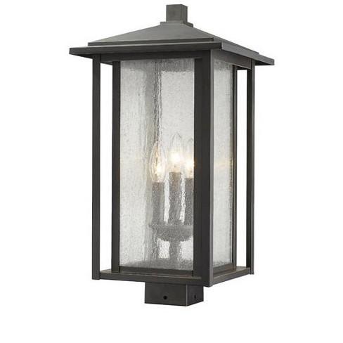 "Z-Lite 554PHXLS Aspen 3 Light 20-7/8"" Tall Outdoor Single Head Post Light - image 1 of 1"