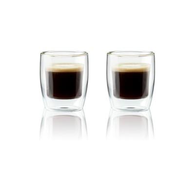 Henckels Double-Wall Glassware 2-pc 3oz. Espresso Glass Set