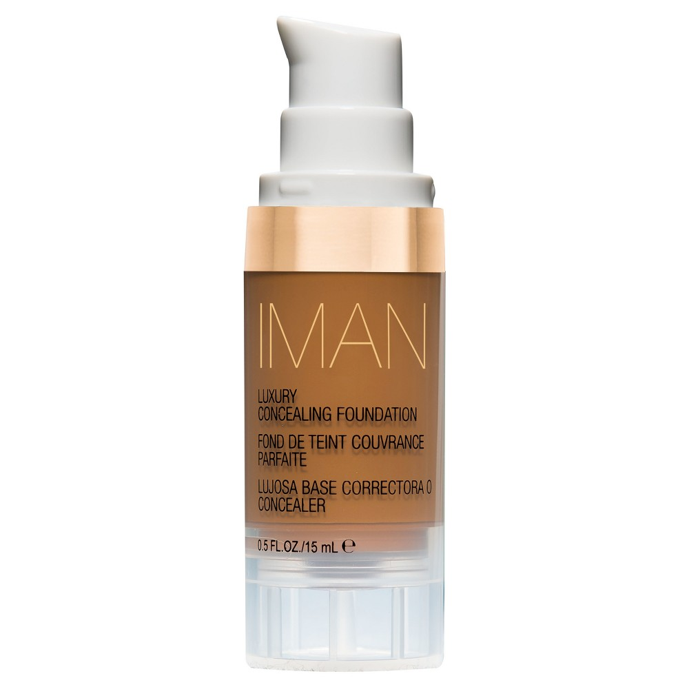 Image of Iman Luxury Concealing Foundation Earth 2 0.5 oz