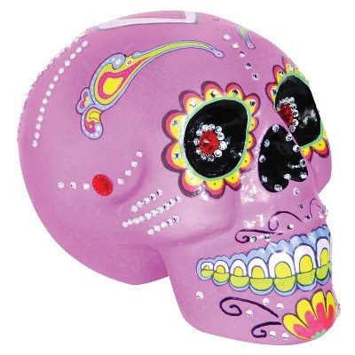 Da de Muertos Pink Sugar Skull