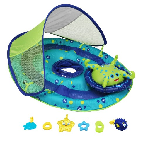 Swimways Baby Spring Float Activity Center - Octopus - image 1 of 4
