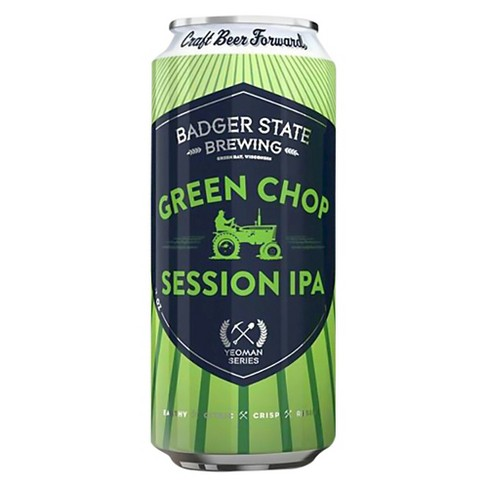 Badger Brew Green Chop IPA - 6pk Cans/12 fl oz Cans - image 1 of 1