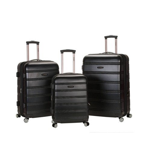 Rockland Melbourne 3pc ABS Spinner Luggage Set - image 1 of 4