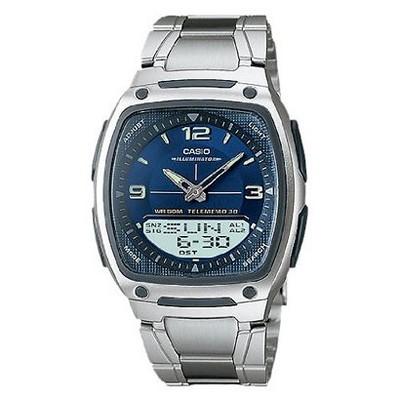 1f4109206740 Mens Casio Analog and Digital Watch – Blue Silver (AW81D-2AV ...