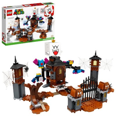 LEGO Super Mario King Boo and the Haunted Yard Expansion Set Collectible Toy for Kids 71377