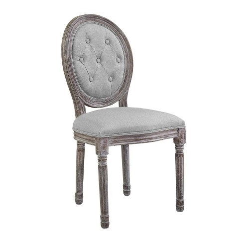 Arise Vintage French Upholstered Fabric Dining Side Chair - Modway - image 1 of 5