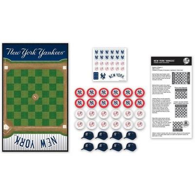 MLB New York Yankees Checkers Game