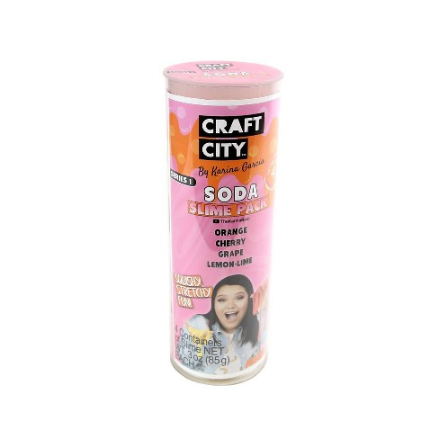 Karina Garcia 4pk Collectible Slime- Soda Pop by Craft City - image 1 of 4