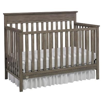 Fisher-Price Newbury 4-in-1 Convertible Crib -Vintage Gray