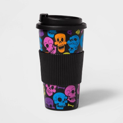 Skulls Halloween Insulated To Go Cup   Hyde & Eek! Boutique™ by Shop This Collection