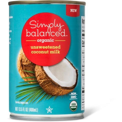 Organic Unsweetened Coconut Milk 13.5oz - Simply Balanced™ - image 1 of 1