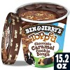 Ben & Jerry's Topped Chocolate Caramel Cookie Dough Ice Cream - 15.2oz - image 2 of 4