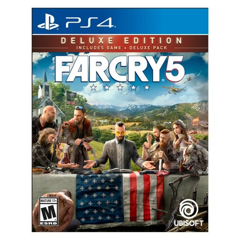 Far Cry 5 Deluxe Edition PlayStation 4 - image 1 of 4