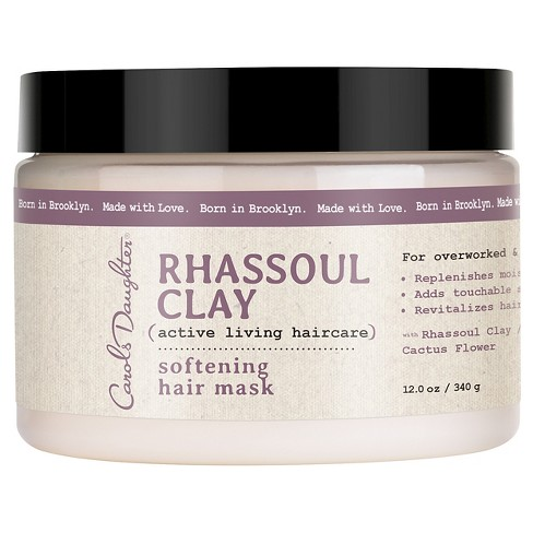Carol's Daughter Rhassoul Clay Softening Hair Mask - 12 oz - image 1 of 3