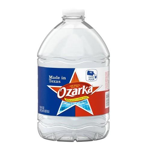 Ozarka Brand 100% Natural Spring Water - 101.4 fl oz Jug - image 1 of 4