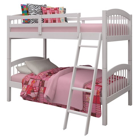 Manville Kids Bunk Bed - White(Twin/Twin) - Acme - image 1 of 2