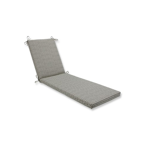Indoor/Outdoor Seeing Spots Sterling Brown Chaise Lounge Cushion - Pillow Perfect - image 1 of 1
