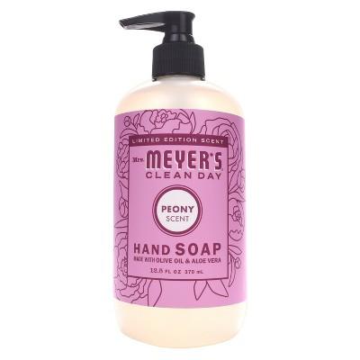 Mrs. Meyer's Peony Scented Liquid Hand Soap - 12.5 fl oz