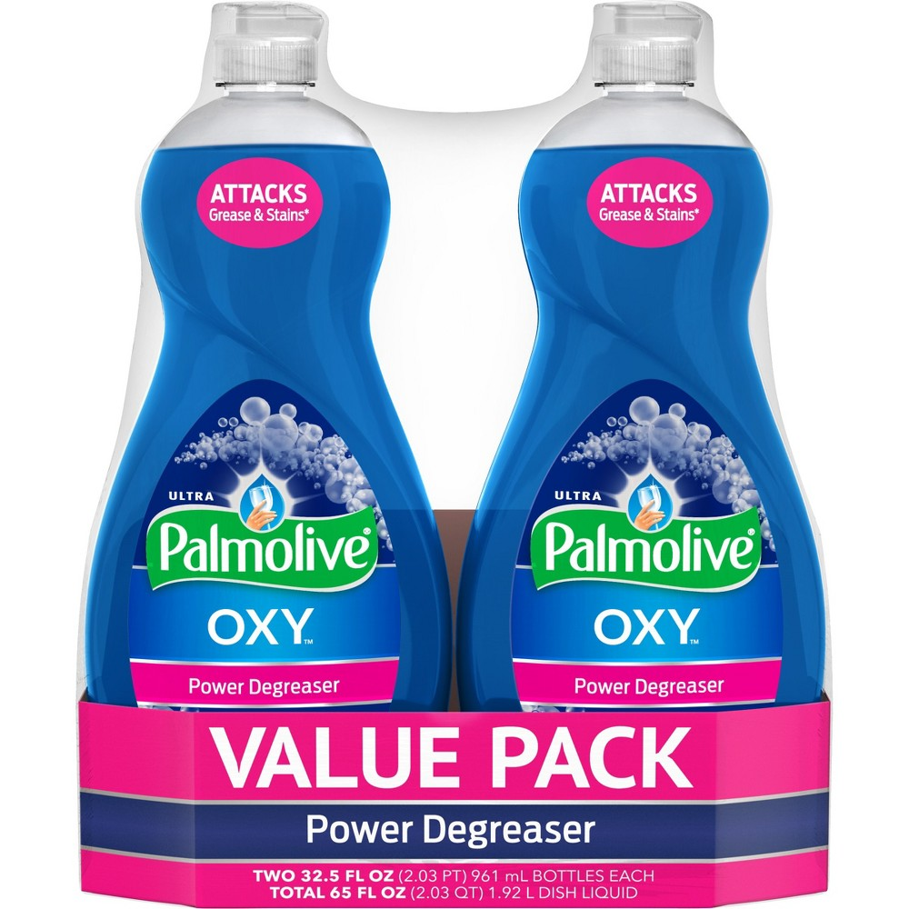 Palmolive Ultra Oxy Power Degreaser Liquid Dish Soap - 2pk/32.5 fl oz Each