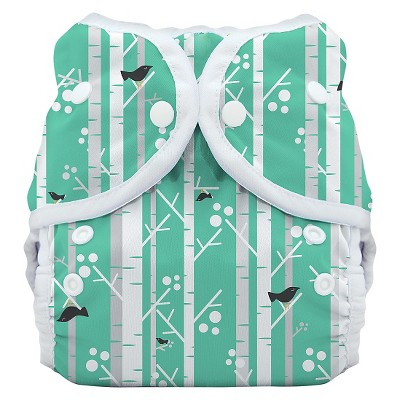 Thirsties Snap Duo Wrap, Aspen Grove - Size One