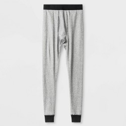 Men's Micro Thermal Pants - Goodfellow & Co™ Heather Gray