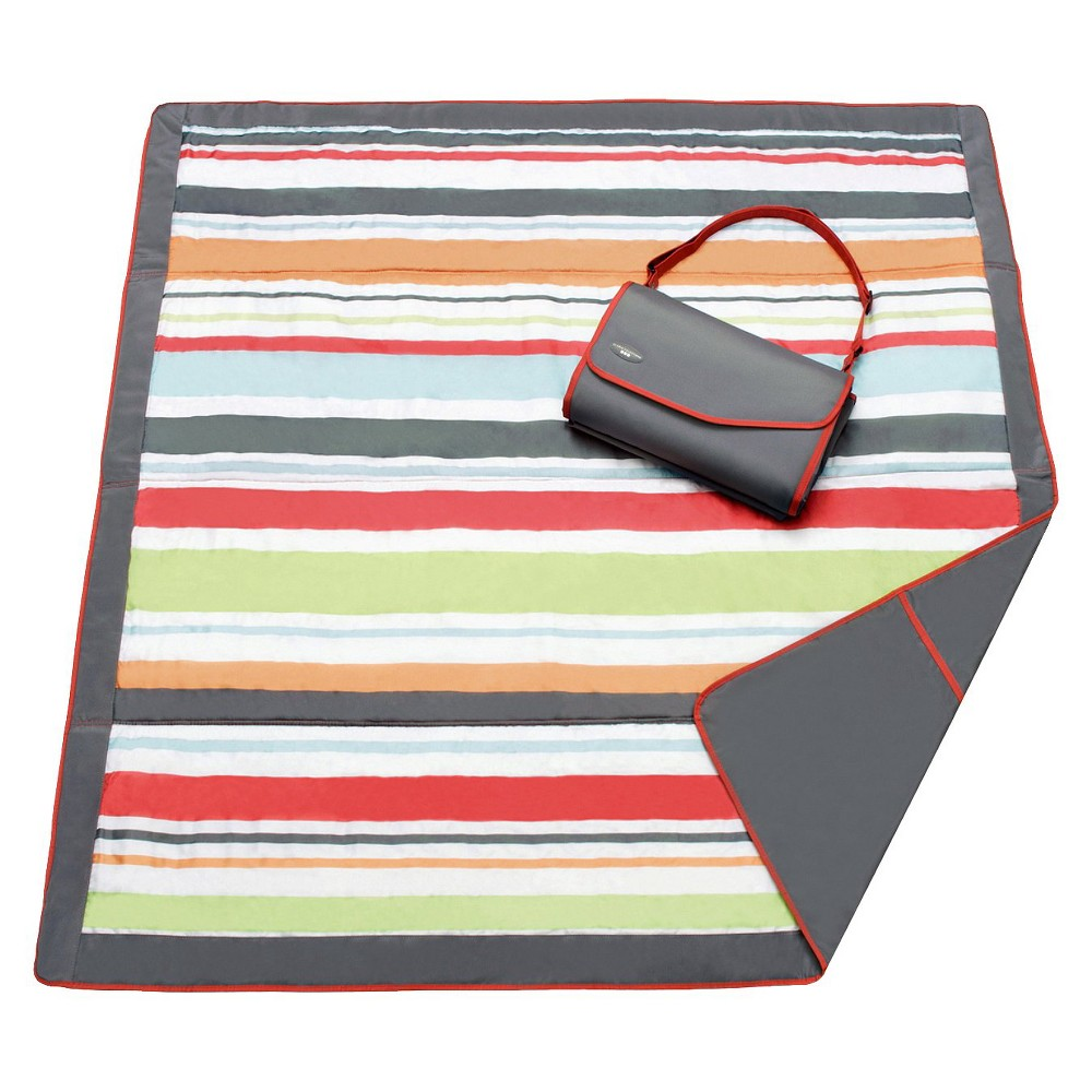 Image of JJ Cole Essentials Blanket – Gray/Red