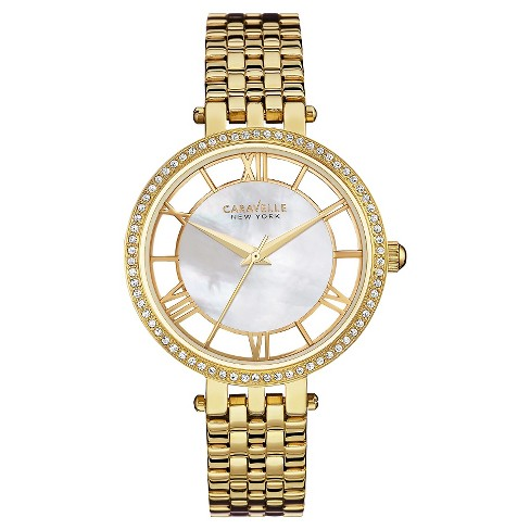 Caravelle New York by Bulova Women's Gold-Tone Stainless Steel Bracelet Watch- 44L170 - image 1 of 1