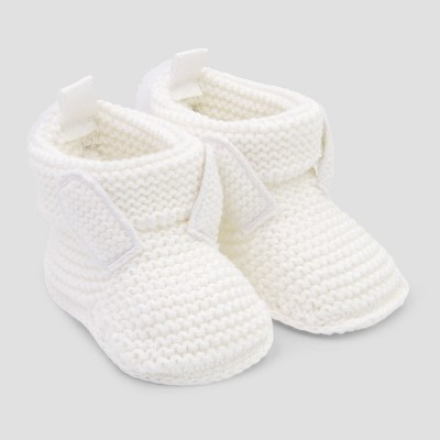 Baby Rabbit Bootie Slippers - Just One You® made by carter's Cream Newborn