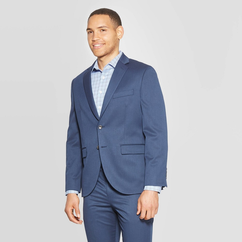 Mens Standard Fit Suit Jacket - Goodfellow & Co In The Navy 38S Discounts
