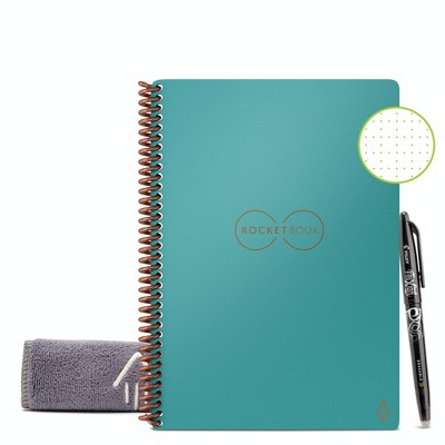 """Core Smart Spiral Reusable Notebook Dot-Grid 36 Pages 6""""x8.8"""" - Rocketbook"""