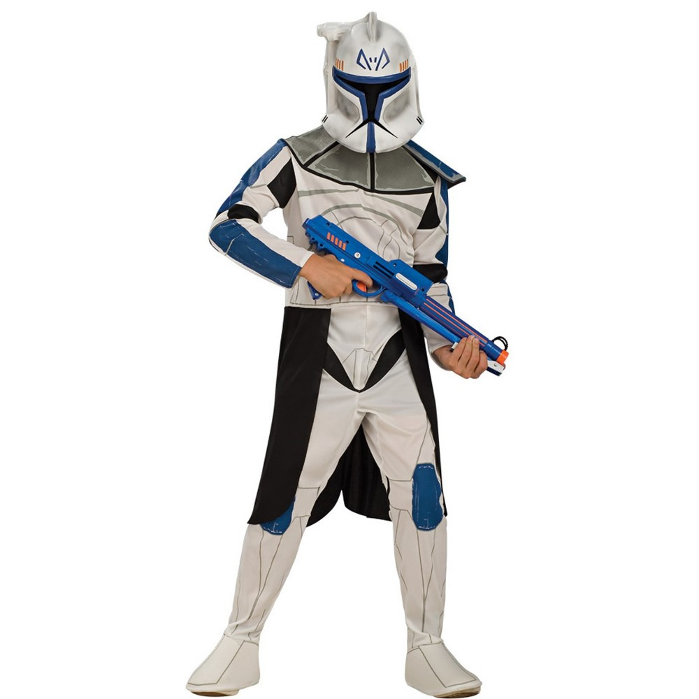 Kids' Star Wars: The Clone Wars Leader Rex Halloween Costume L, Boy's, Multi-Colored