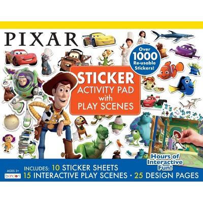 Pixar Giant Sticker Activity Pad