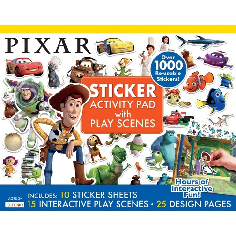 Pixar Giant Sticker Activity Pad - image 1 of 3