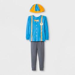 Toddler Boys' Blippi 2pc Pajama Set with Hat - Blue