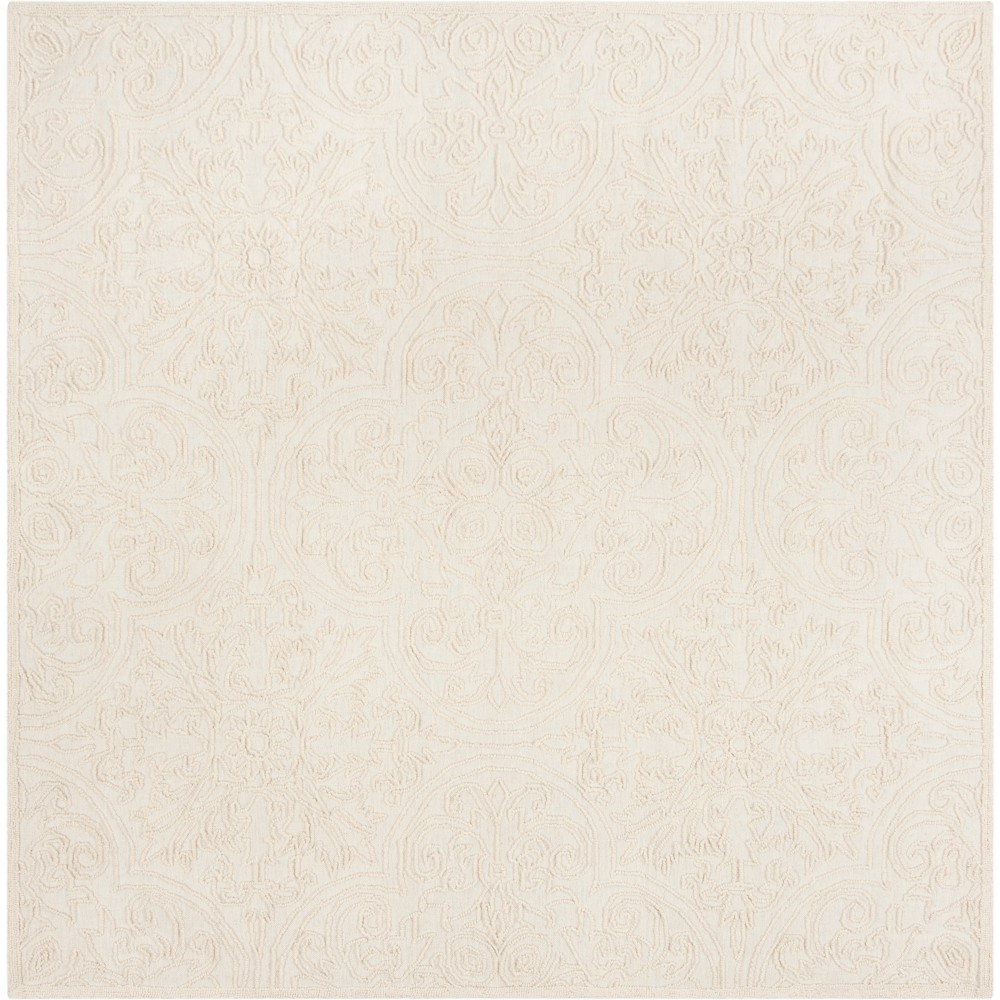 6'X6' Shapes Tufted Square Area Rug Ivory - Safavieh