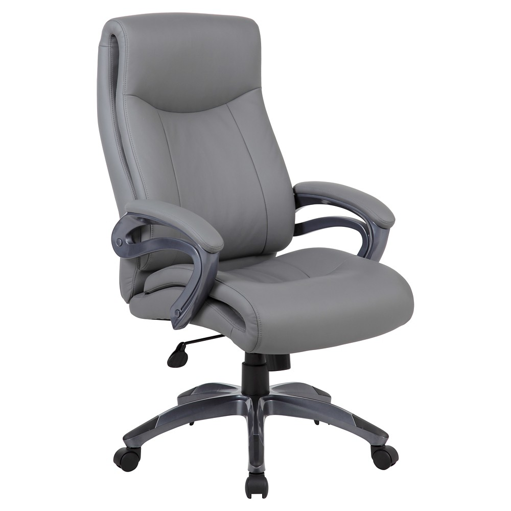 Double Layer Executive Chair Gray - Boss Office Products