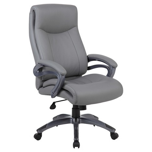 Double Layer Executive Chair Gray - Boss Office Products - image 1 of 4
