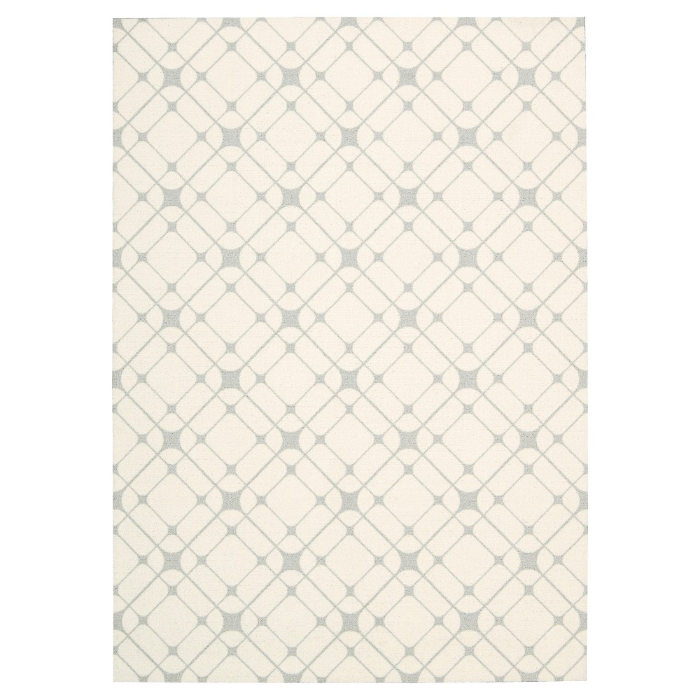 Nourison Graphic Enhance Accent Rug - Ivory/Gray (4'X6')