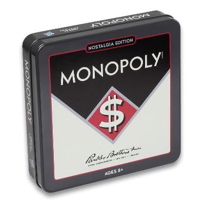 Nostalgia Tin - Monopoly Board Game