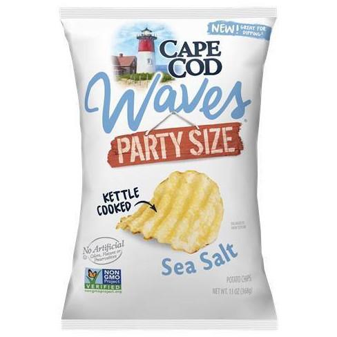 Cape Cod Sea Salt Waves Party Size Potato Chips - 13oz - image 1 of 1