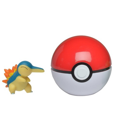 Pokemon Cyndaquil Clip 'N Go Poke Ball - image 1 of 2