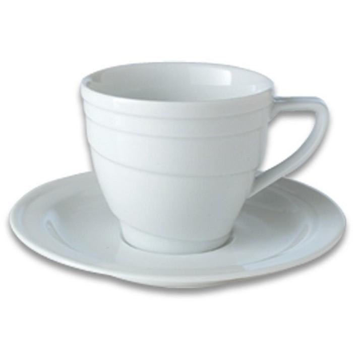 BergHOFF Eclipse 4oz Porcelain Cup & Saucer : Target