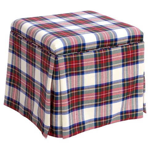 Skirted Storage Ottoman - Skyline Furniture® - image 1 of 3