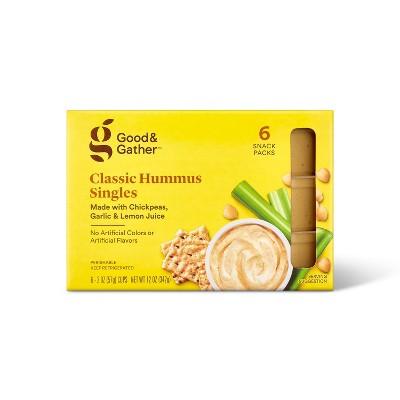 Classic Hummus Singles - 6pk/12oz - Good & Gather™