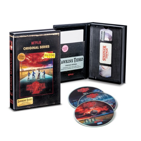 stranger things season 2 blu ray dvd target