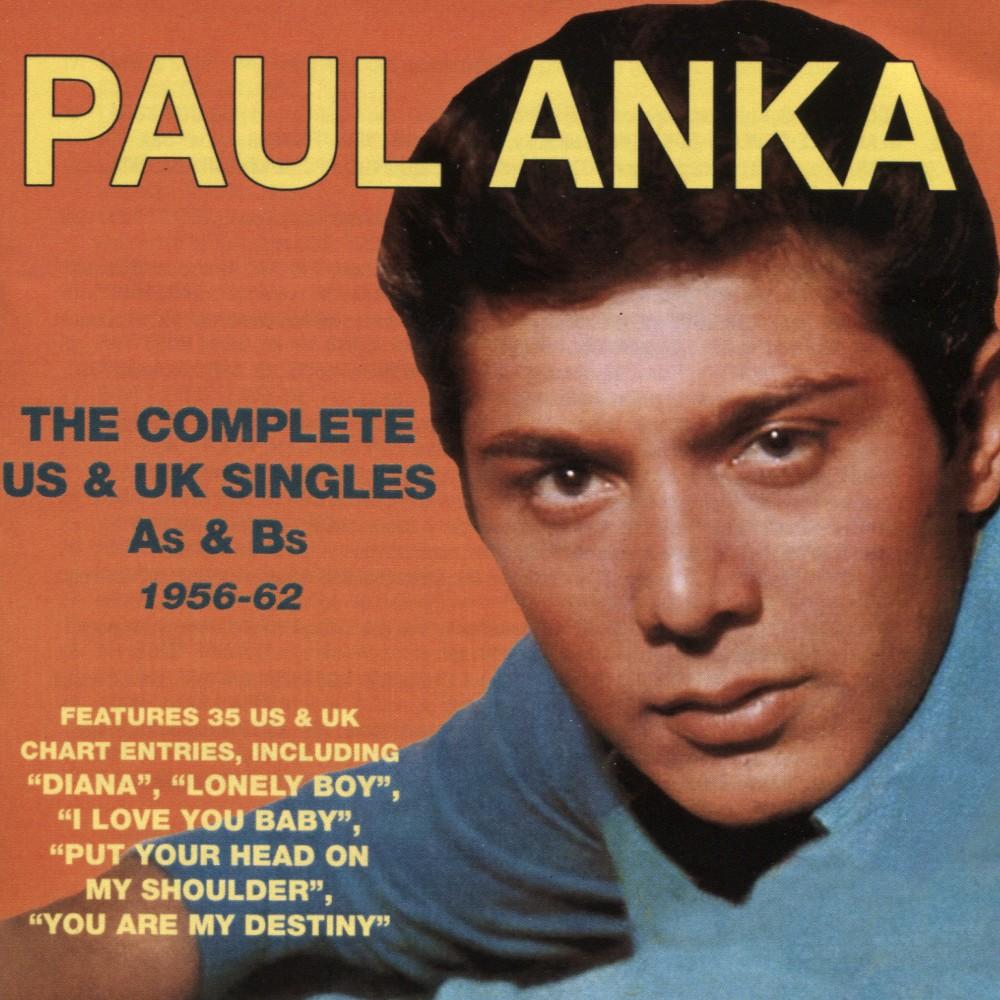 Paul Anka - Complete Us & Uk Singles As & Bs 56-6 (CD)