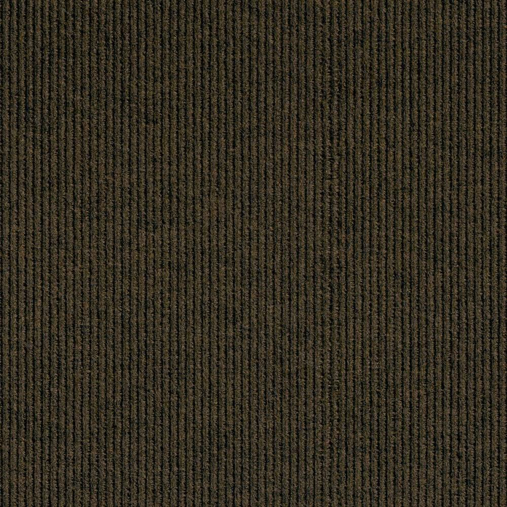 18 10pk Self Stick Carpet Tile Brown - Foss Floors Reviews